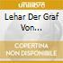 LEHAR DER GRAF VON LUXEMBURG