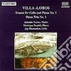 Heitor Villa-Lobos - Sonata X Vlc E Pf N.2 Op.66, Trio X Pf N.2