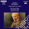 Sinding Christian - Trio X Pf N.2 Op.64, N.3 Op.87