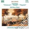 Johannes Brahms - Variazioni Su Un Tema Di Schumann Op.9,variazioni Su Un Tema Di Handel Op.24, V