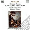 Wolfgang Amadeus Mozart - Danze Tedesche N.1 > N.12 K 586, 6 Danze Tedesche K 600, 4 Danze Tedesche K 602,