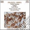 Cesar Franck - Sonata X Vl E Pf