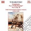 Pyotr Ilyich Tchaikovsky - Sinfonia N.2 Op.17 piccola Russia, N.4 Op.36