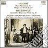 Wolfgang Amadeus Mozart - Quintetto X Pf E Fiati K 452, Adagio E Rondo' K 617