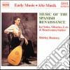 MUSIC OF THE SPANISH RENAISSANCE