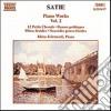 Satie Erik - Opere X Pf (integrale) Vol.2: 12 Petitechorals, Danses Gotique, Pieces Froides,