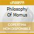 PHILOSOPHY OF MOMUS