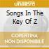 SONGS IN THE KEY OF Z