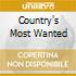 COUNTRY'S MOST WANTED