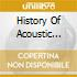 HISTORY OF ACOUSTIC BLUES