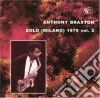 Anthony Braxton - Solo Milano 1979 Vol.2