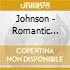 Johnson - Romantic Clarinet Concertos