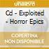 CD - EXPLOITED - HORROR EPICS