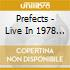 CD - PREFECTS - LIVE 1978 - THE CO-OP SUITE BIRMINGHAM