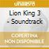 Lion King 3 - Soundtrack