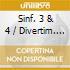 SINF. 3 & 4 / DIVERTIM. UNGHERESE