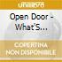 Open Door - What'S Behind Door Number 1