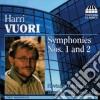Vuori Harri - Sinfonia N.1, N.2