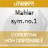 Mahler sym.no.1