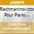 RACHMANINOV:CTO POUR PIANO NO.2