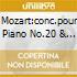 MOZART:CONC.POUR PIANO NO.20 & 24