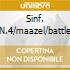 SINF. N.4/MAAZEL/BATTLE