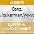 CONC. VLC./ZUKERMAN/YO-YO MA