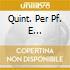 QUINT. PER PF. E FIATI/PERAHIA