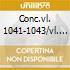 CONC.VL. 1041-1043/VL. E  OBOE