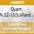 QUART. N.12-15/JUILLIARD Q.