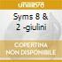 SYMS 8 & 2 -GIULINI