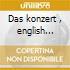 Das konzert , english version - berlin p