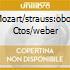 MOZART/STRAUSS:OBOE CTOS/WEBER