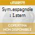 SYM.ESPAGNOLE : I.STERN