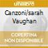 CANZONI/SARAH VAUGHAN