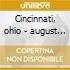 Cincinnati, ohio - august 20,2000
