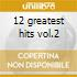 12 greatest hits vol.2