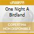 ONE NIGHT A BIRDLAND