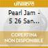 PEARL JAM LIVE VELODROMO ANOETA SPAI