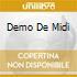 DEMO DE MIDI