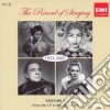 The record of singing: 1953-2007