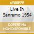 LIVE IN SANREMO 1954
