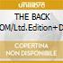 THE BACK ROOM/Ltd.Edition+DVD