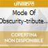 MODE OF OBSCURITY-TRIBUTE DEPECHE MODE