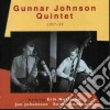 Gunnar Johnson Quintet - 1957-1959