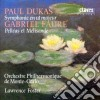Dukas Paul - Sinfonia In Do Mag