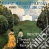 Zemlinsky Alexander Von - Trio X Clar, Vlc E Pf Op.3