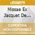MISSAE EX JACQUET DE MANTUA VOL.2