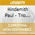 Hindemith Paul - Trio Per Archi N.1 Op 34 (1924)