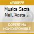 MUSICA SACRA NELL'AOSTA DEL '600